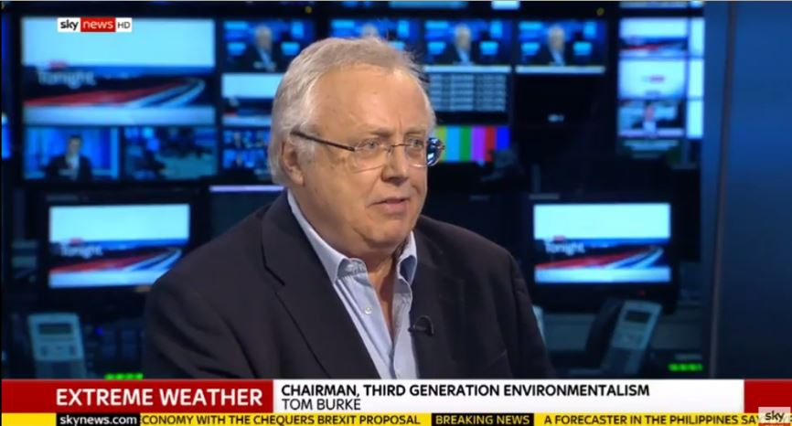 Extreme weather events and Climate Attribution – Sky News