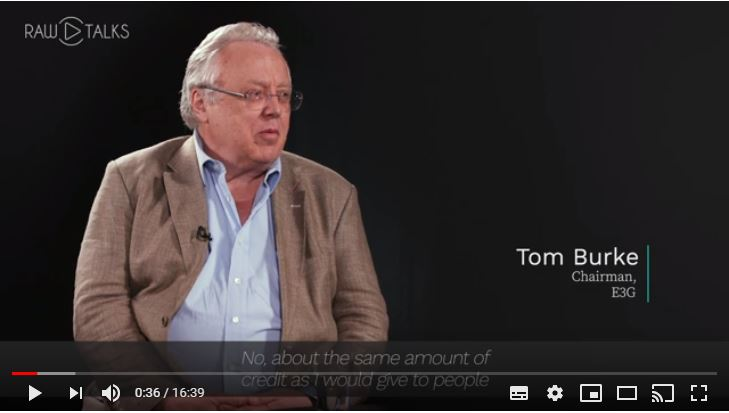 Climate Change and the Extractives | RAW Talks with Tom Burke