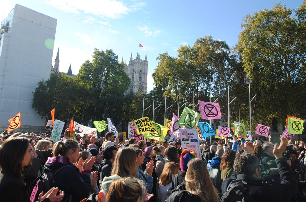 Reflecting on the message of Extinction Rebellion – LBC 25 Apr 19
